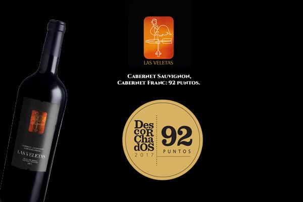 vinos de Las Veletas premiados
